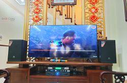 Lắp đặt dàn karaoke gia đình chú Khanh tại Cầu Giấy (JBL MTS10, Xli2500, KX180, BCE UGX12 Luxury)