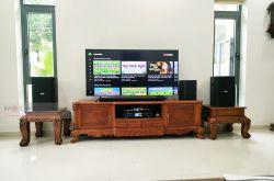 Lắp đặt dàn karaoke gia đình chú Sử tại TP HCM (BIK BSP 410II, BKSound DKS 6500)