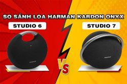 So sánh chi tiết Loa Harman Kardon Onyx Studio 7 với Studio 6