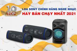 Top 10 Loa Sony chính hãng nghe nhạc hay bán chạy nhất 2021