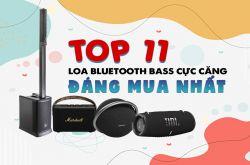 Top 11 Loa bluetooth bass cực căng, cân mọi loại nhạc đáng mua nhất