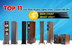 Top 11 Loa Polk Audio nghe nhạc chuẩn Hifi Mỹ bán chạy nhất 2021