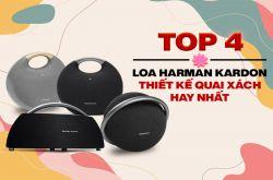 Top 4 Loa bluetooth Harman Kardon thiết kế quai xách, hay nhất 2021