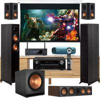 Dàn âm thanh 5.1 xem phim nghe nhạc BC-XPNN20 (Klipsch 8000F+Denon AVR X3700H+BenQ TK800M...)