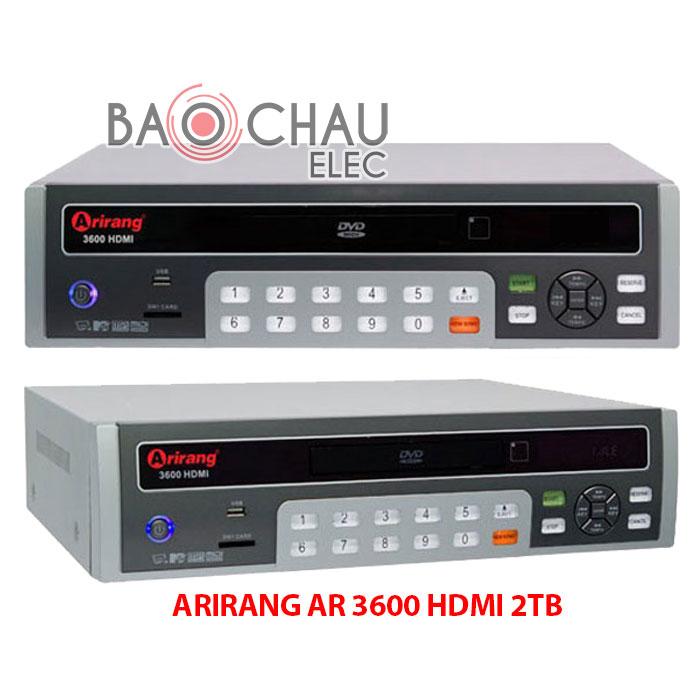 Arirang AR 3600 HDMI 2 TB
