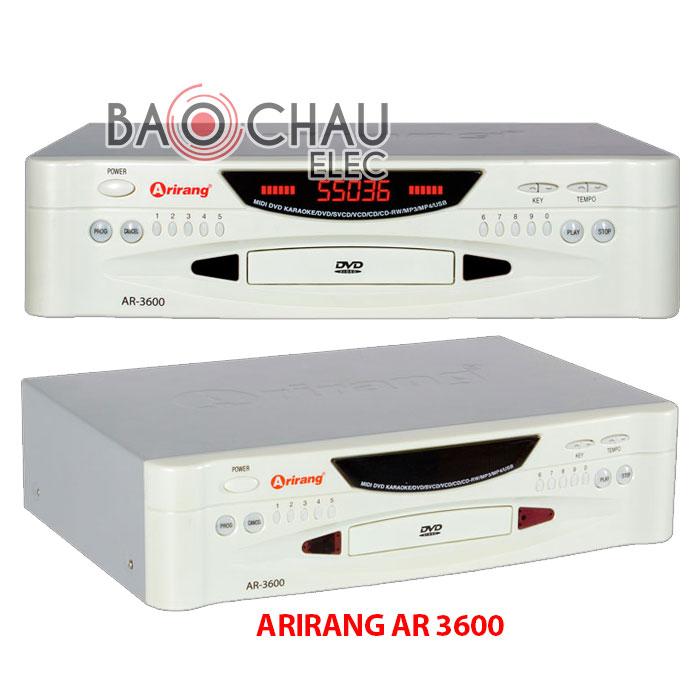 Đầu Arirang AR 3600