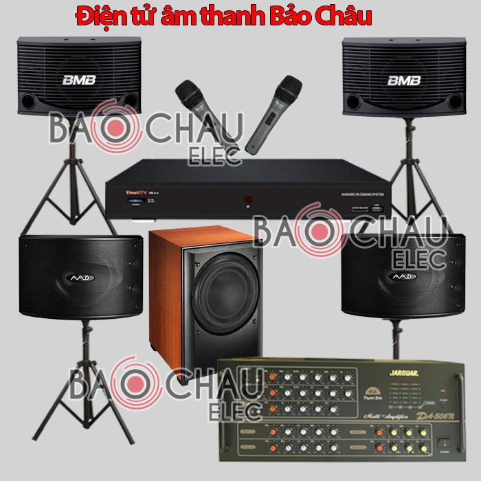 Bộ dàn karaoke BC-15KD