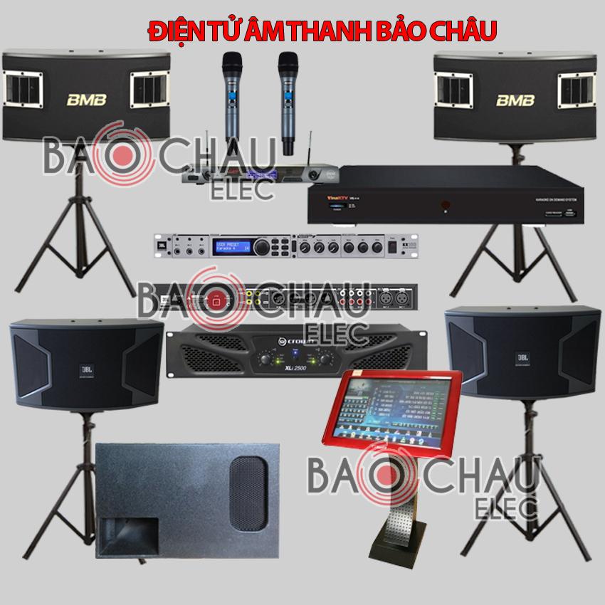 Bộ dàn karaoke BC-KD08