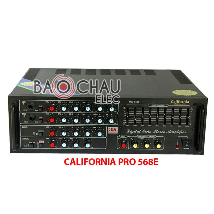 California PRO 568E