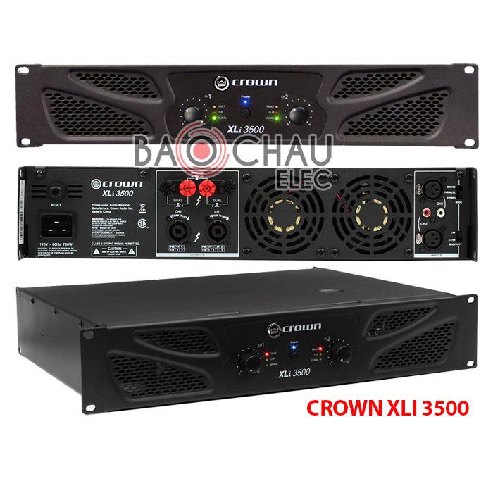 Cục đẩy công suất Crown XLi 3500