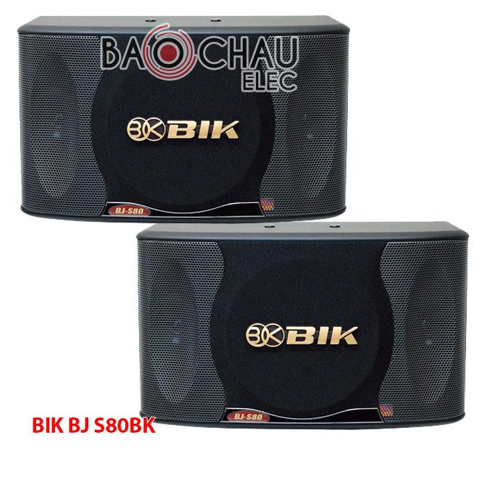 Loa BIK S80k – Loa karaoke Bik Bj S80BK