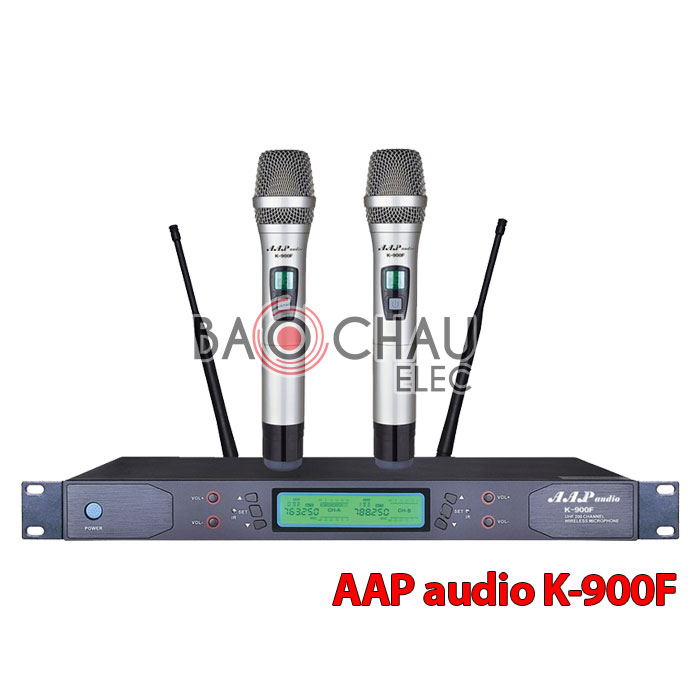 Micro karaoke không dây AAP audio K-900F