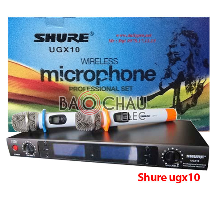 Micro Shure UGX10 hát cực hay, giá cực rẻ