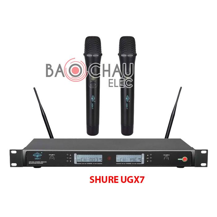 Micro Shure UGX7