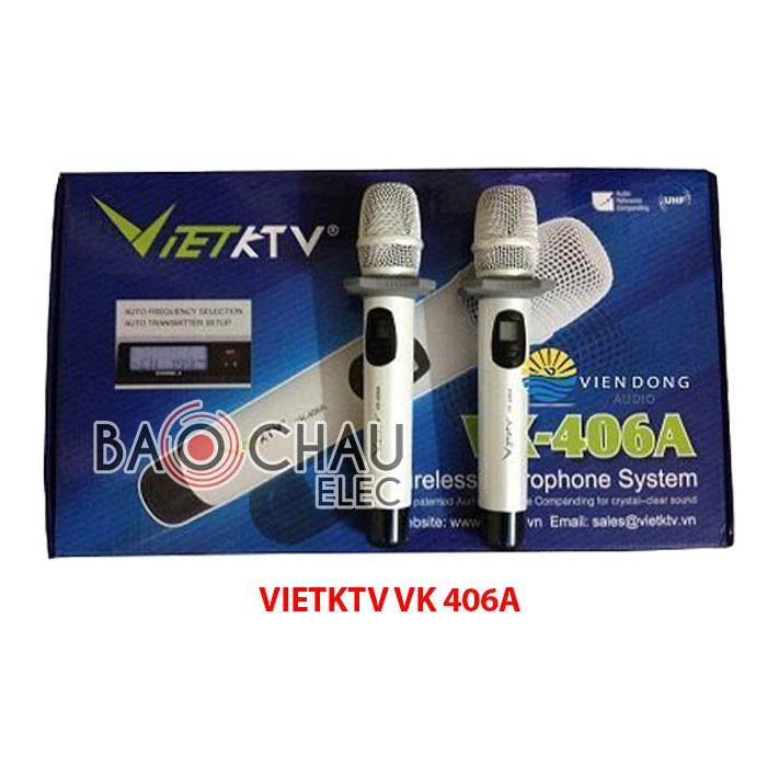 Micro karaoke VietKTV VK 406A new