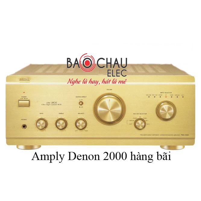Ampli-denon-2000
