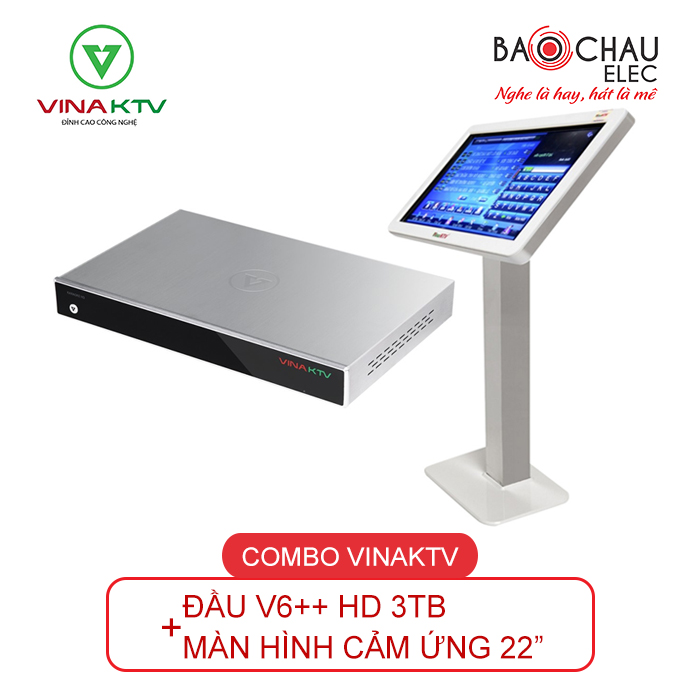 COMBO VINAKTV V6++ & MÀN HÌNH 22INCH