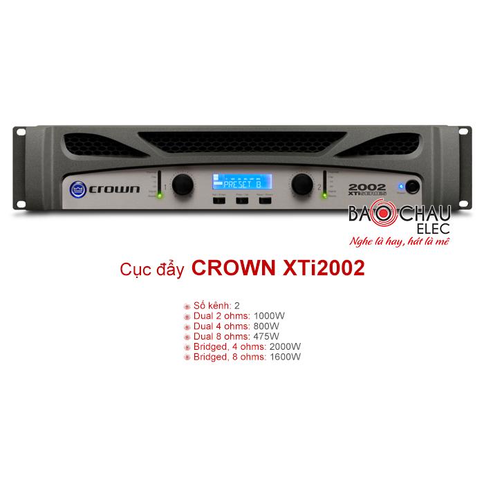 Cục đẩy công suất Crown XTi2002