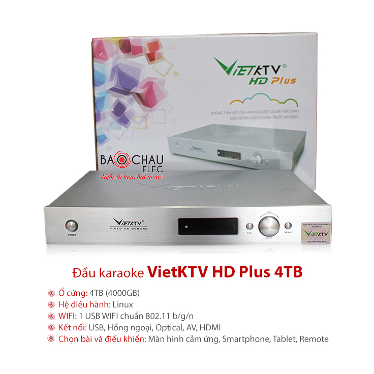 Đầu VietKTV HD Plus 4TB