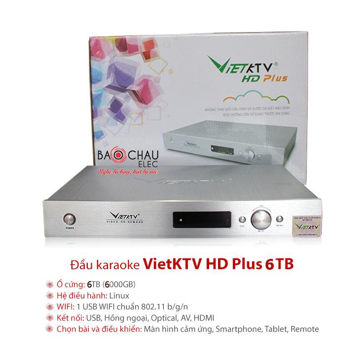 Đầu VietKTV HD Plus 6TB