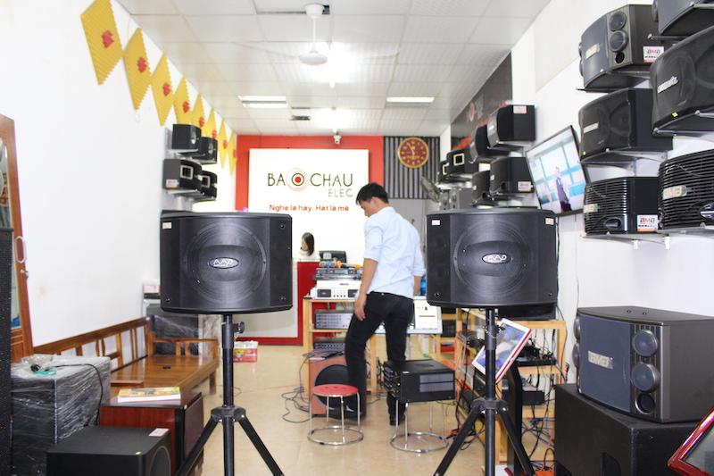 Bộ dàn karaoke kinh doanh BC-36KD