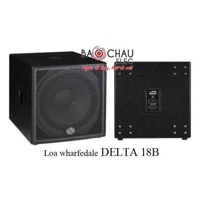 Loa sub wharfedale DELTA 18B