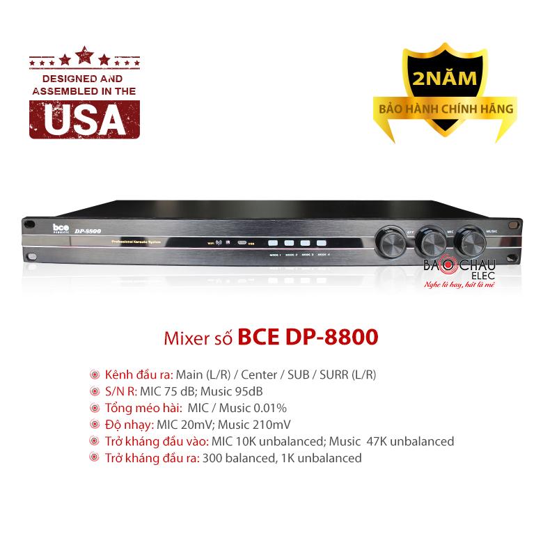 Mixer số BCE DP-8800
