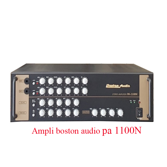 Ampli boston audio pa 1100n