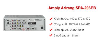 Amply Arirang SPA-203EB