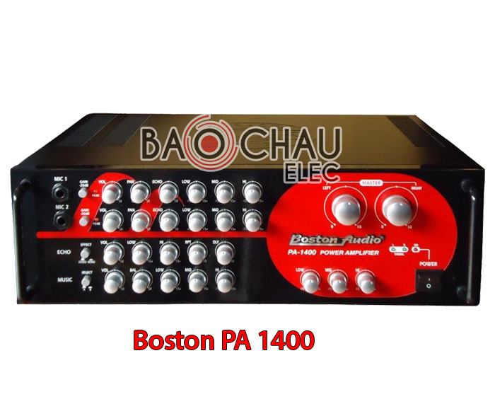 Amply karaoke Boston PA 1400
