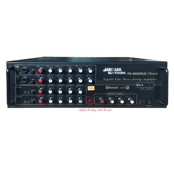 Amply Jarguar PA-203 Gold Bluetooth