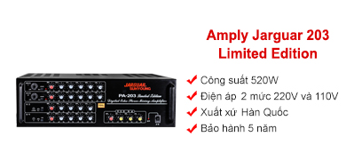 Amply Jarguar 203 Limited Edition