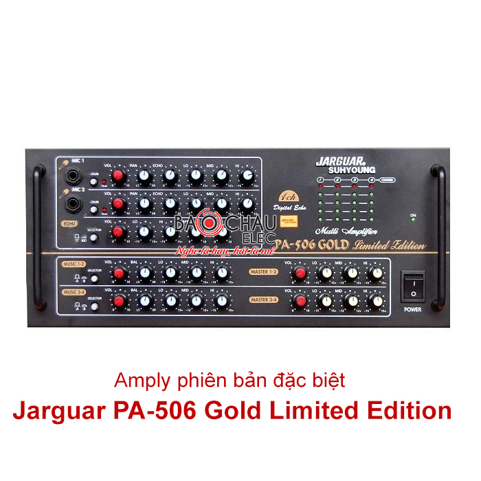 Amply Jarguar 506 Gold Limited Edition