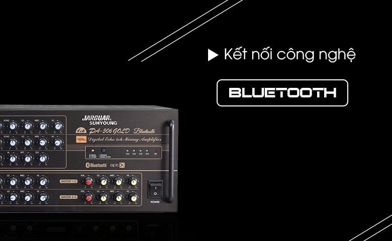Amply-Jarguar-PA-506-Gold-Bluetooth