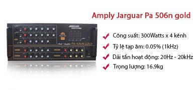 Amply karaoke jarguar PA 506N Gold