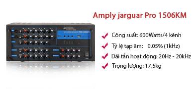 Amply jarguar Pro 1506KM