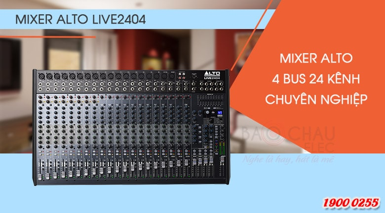 Bàn mixer Alto Live 2404