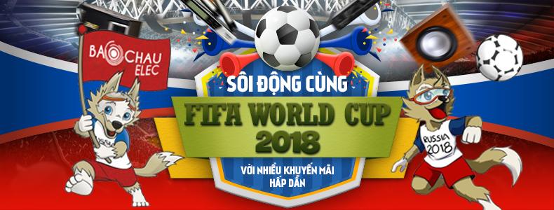 Khuyến mại hấp dẫn cùng world cup 2018