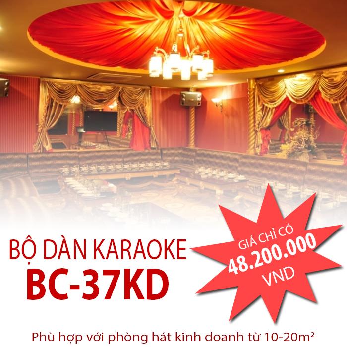 Dàn karaoke chuyên nghiệp BC-37KD