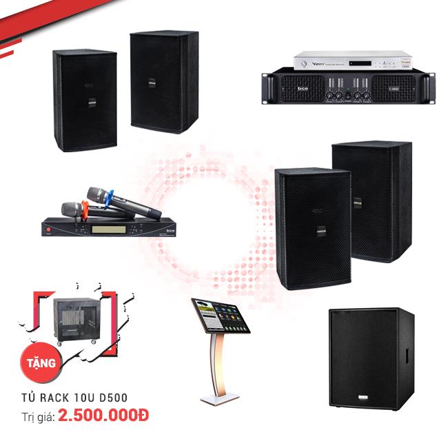 Dàn karaoke kinh doanh BC-39KD