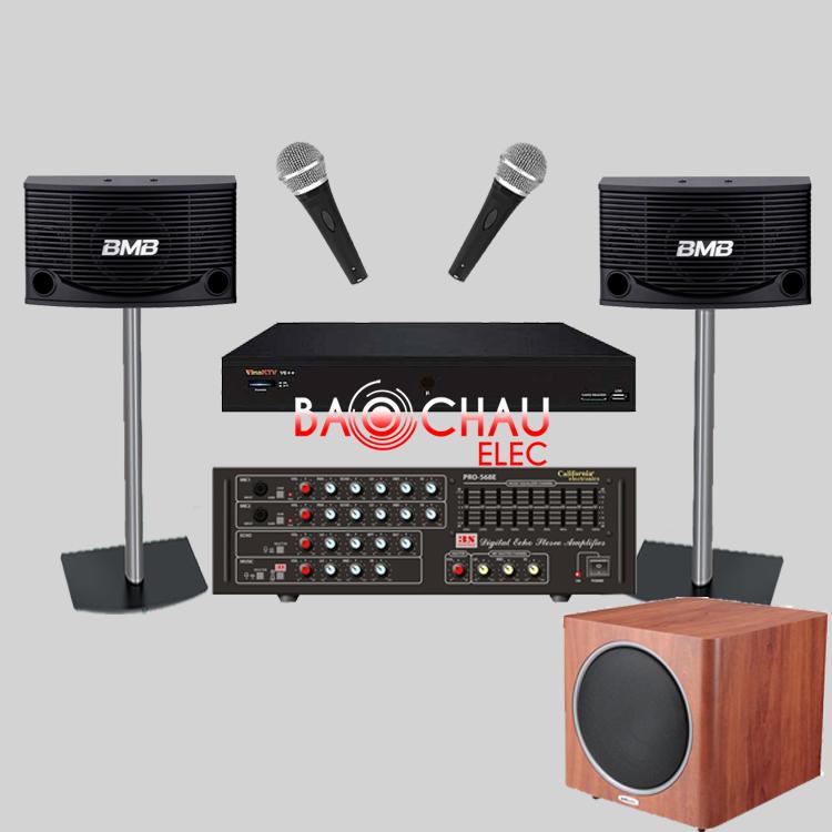 Bộ dàn karaoke gia đình BC - 20GD