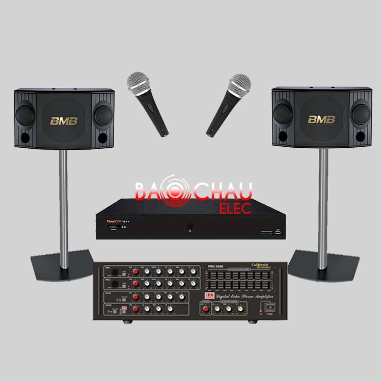 Bộ dàn karaoke gia đình BC-17GD