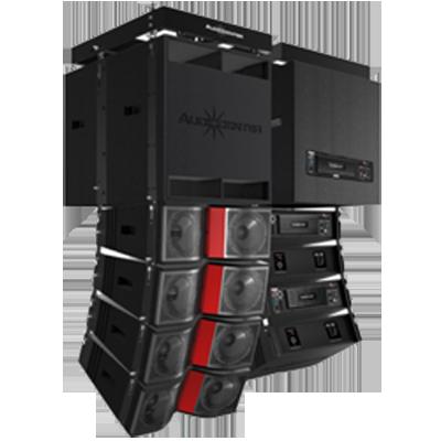 Bộ loa line array Audiocenter 01