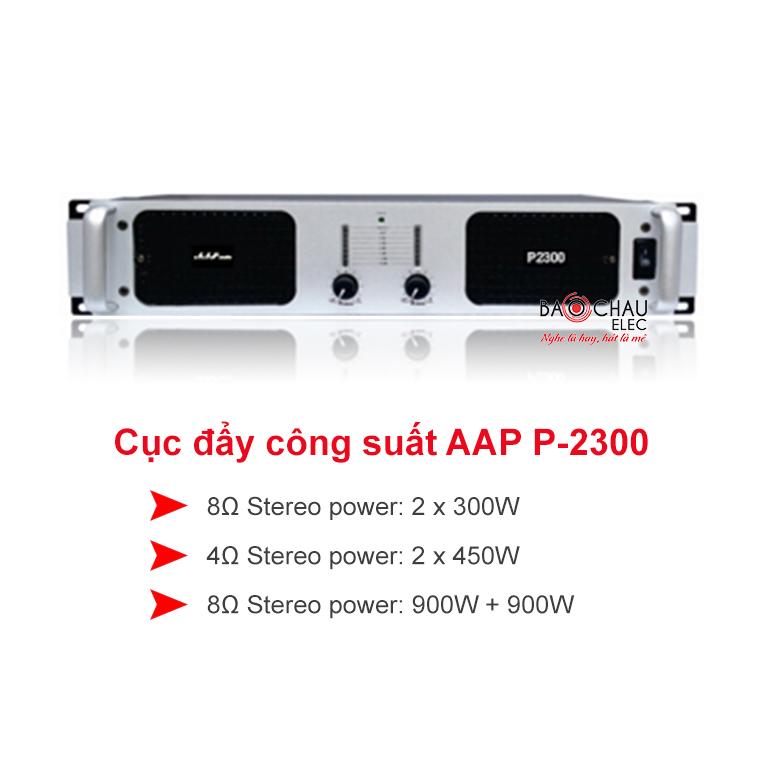 Cục đẩy công suất aap p2300