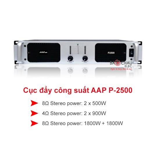 Cục đẩy công suất AAP P2500