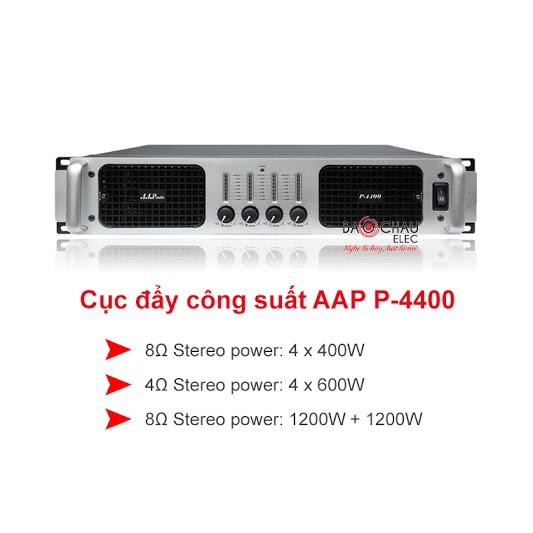 Cục đẩy công suất AAP P4400