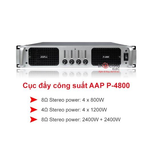 Cục đẩy công suất aap p4800