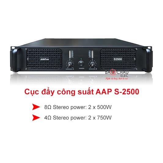 Cục đẩy công suất aap s2500