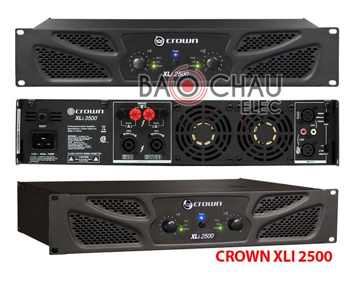 Cục đẩy công suất Crown XLI 2500 Bãi