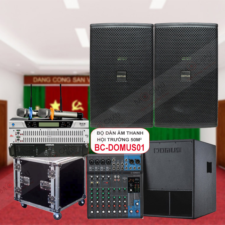Dàn âm thanh hội trường BC-Domus01